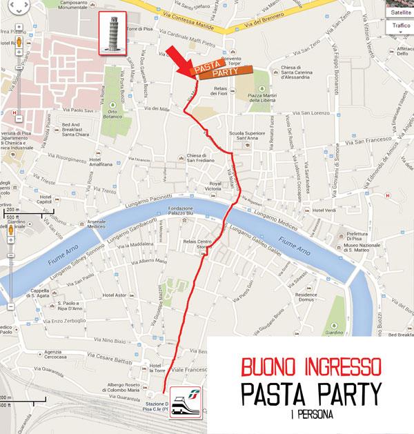 locandina pasta party